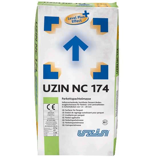 Саморастекающаяся цементная выравнивающая масса (1,5 – 20 мм) UZIN NC174 25 кг.