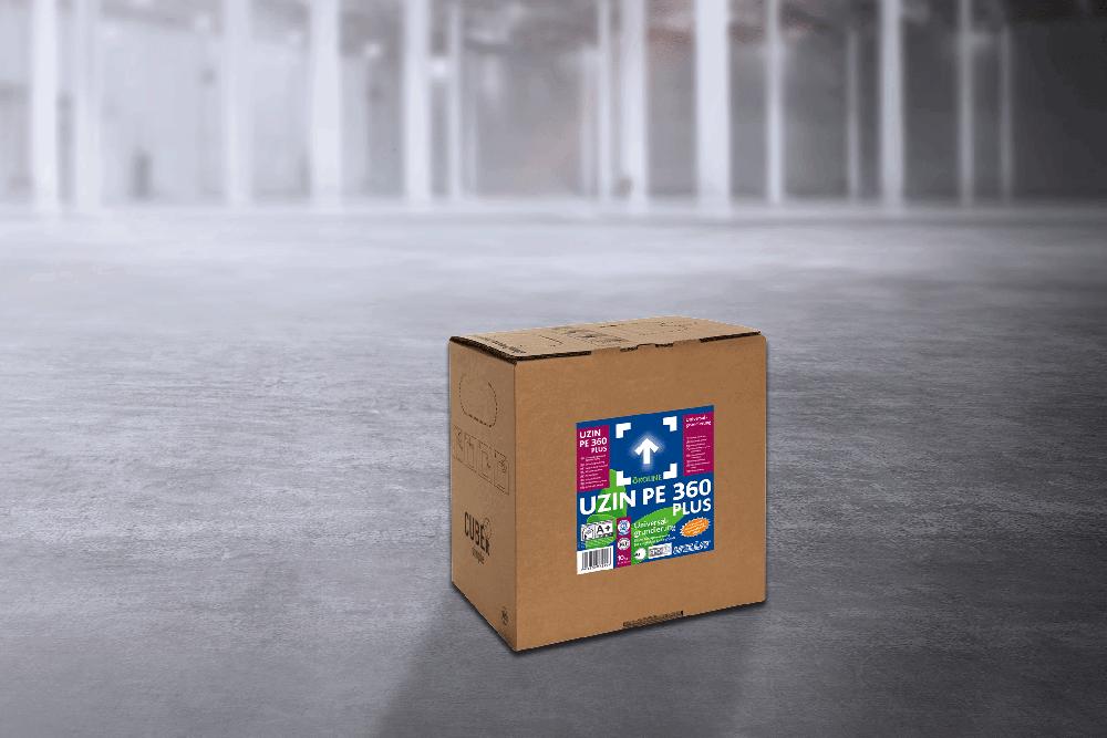 Однокомпонентная дисперсионная грунтовка для впитывающих оснований, цементных стяжек и бетона UZIN PE 360 PLUS 5 кг.