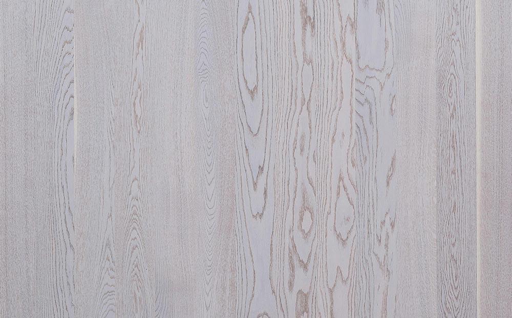 Паркетная доска PolarWood Дуб Premium Elara White Matt