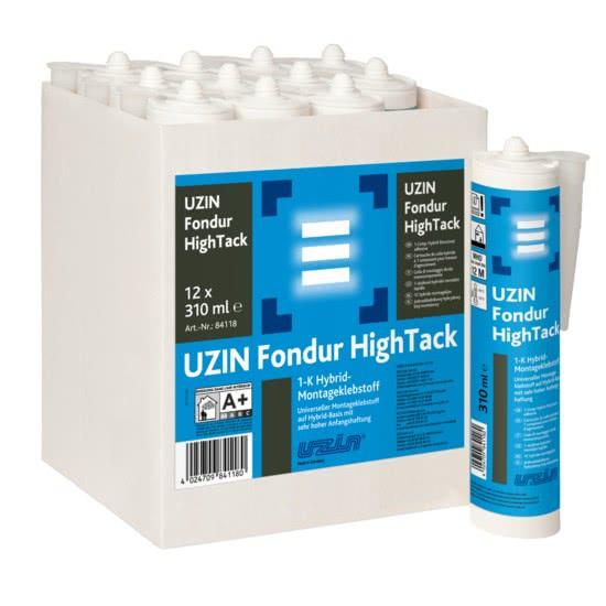 Универсальный клей на гибридной основе с очень высоким начальным сцеплением UZIN Fondur HighTack 0,31 кг.