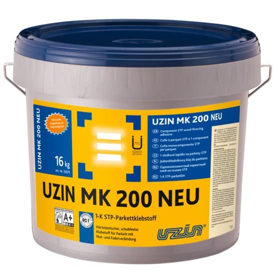Однокомпонентный STP-силановый клей для паркета UZIN MK200 16 кг.
