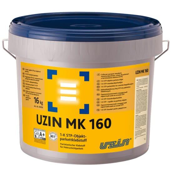 Однокомпонентный паркетный силановый клей UZIN MK160 16 кг.