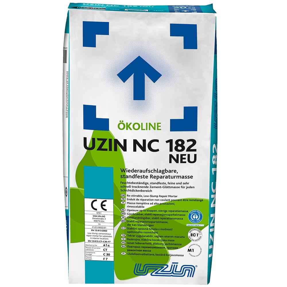 Ремонтная шпаклёвочная масса UZIN NC182 20 кг.